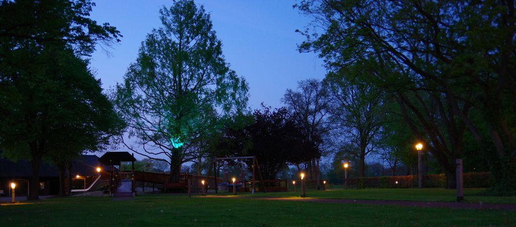 verlichting voor park