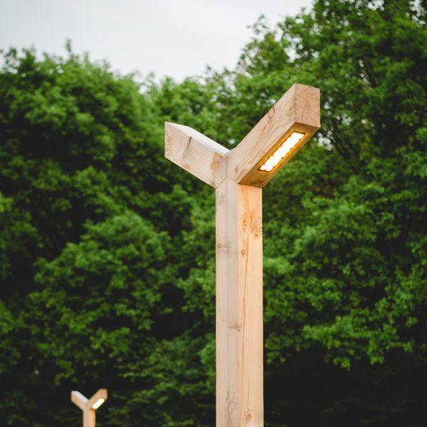 houten lantaarn