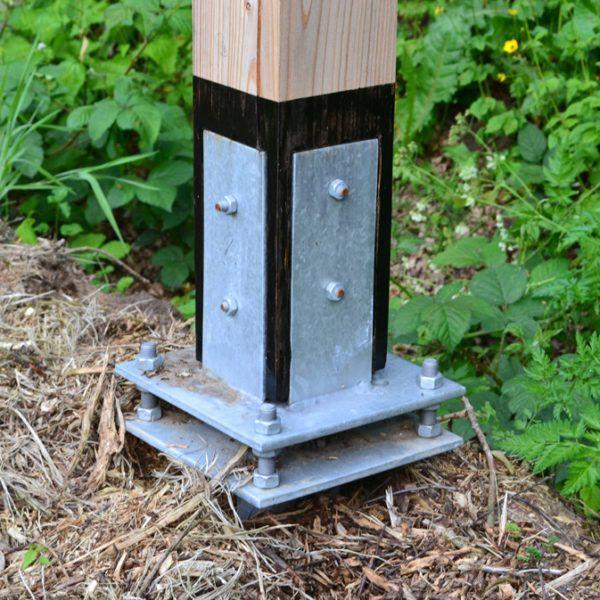 houten lamp