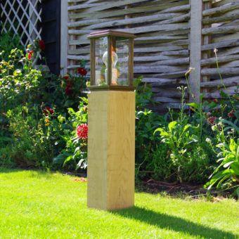 houten tuinverlichting led